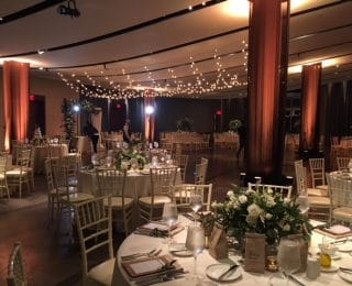 Atlantic room with piazza lighting 320x260 - Weddings